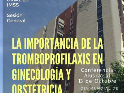 La importancia de la tromboprofilaxis en ginecología y obstetricia