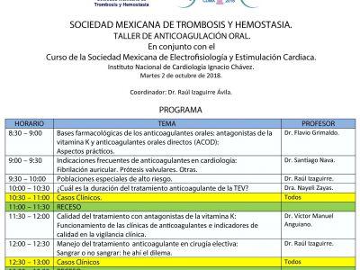 Curso de la Sociedad Mexicana de Electrofisiología y Estimulación Cardiaca.