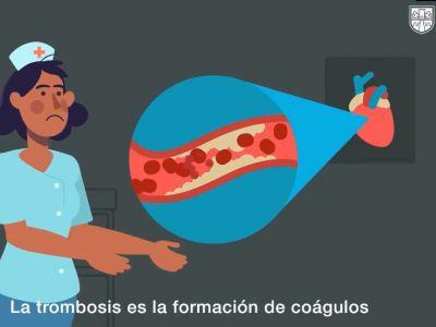 """Video promocional: """"Conoce Trombosis"""" de la Secretaría de Salud del Gobierno de la Ciudad de México (Dirección de Promoción a la Salud)"""