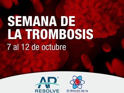 Semana de la Trombosis - AP Resolve. El Rincón de la Hemostasia