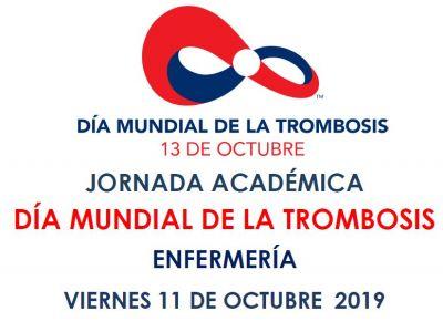 Día Mundial de la Trombosis - Para Enfermerìa - 11 de octubre 8 a 12 hs
