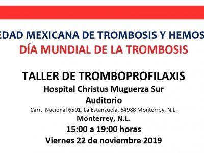 Taller de Tromboprofilaxis - Hospital Christus Muguerza Sur