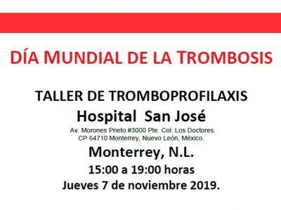 Taller de Tromboprofilaxis en el Hospital de San Josè