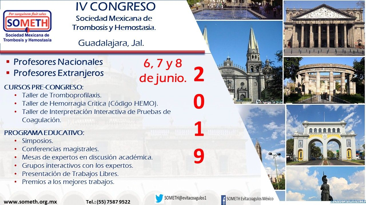 IV Congreso SOMETH 2019
