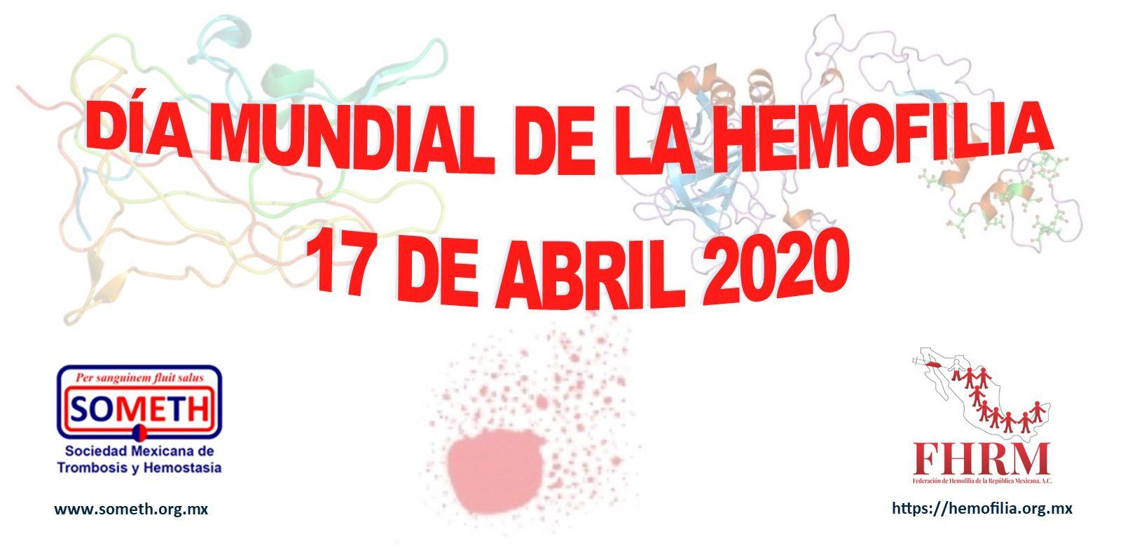 Día Mundial de la Hemofilia 2020